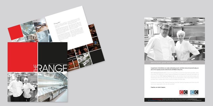 Brochure and advertising design
